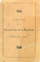 Thumbnail image of Second Church in Hartford Members 1669-1874 cover