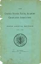 Thumbnail image of U. S. Naval Academy Graduates 1890 Reunion cover