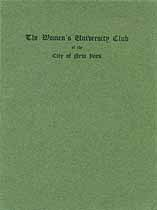 Thumbnail image of The Women's University Club 1907 cover