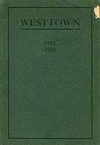 Thumbnail image of Westtown School 1915-1916 cover