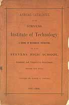 Thumbnail image of Stevens Institute of Technology 1887-1888 Catalogue cover