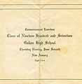 Thumbnail image of Galion High School 1917 Commencement cover