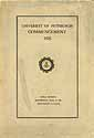 Thumbnail image of Univ. of Pittsburgh 1925 Commencement cover