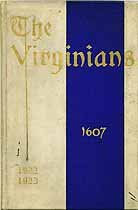 Thumbnail image of The Virginians 1922-1923 Members cover