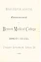 Thumbnail image of Bennett Medical College 1886 Commencement cover