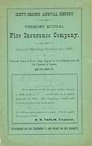 Thumbnail image of Vermont Mutual Fire Ins. 62nd Annual Report cover