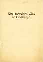 Thumbnail image of The Powelton Club 1914 Member List cover