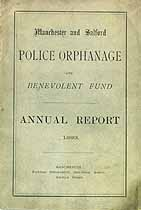 Thumbnail image of Manchester Police Orphanage 1893 Annual Report cover