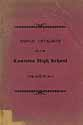 Thumbnail image of Canisteo High School 1898-99 Catalogue cover