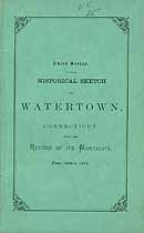 Thumbnail image of Watertown, Conn., 1871 Mortality Records cover