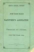 Thumbnail image of New York Dairymen's Assoc. 1885 Annual Report cover