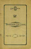 Thumbnail image of Bowdon College 1889-90 Annual Catalogue cover