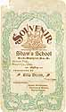 Thumbnail image of Shaw's School 1898-9 Souvenir cover