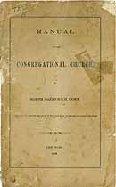 Thumbnail image of Congregational Church 1873 Members cover