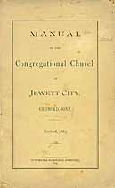 Thumbnail image of Congregational Church 1885 Members cover