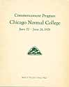 Thumbnail image of Chicago Normal College 1929 Commencement cover