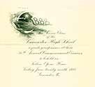 Thumbnail image of Lancaster High School 1888 Commencement cover