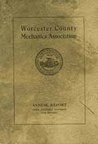Thumbnail image of Worcester Co. Mechanics Assoc. 1916 Annual Report cover