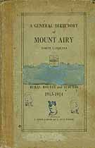 Thumbnail image of Mt. Airy Directory 1913-1914 cover