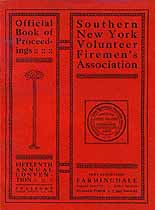 Thumbnail image of Southern New York Firemen's Association 1910 Convention cover
