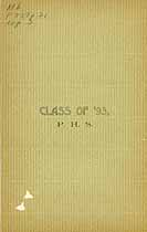 Thumbnail image of P. H. S. Class of '93 cover