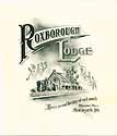 Thumbnail image of Roxborough Lodge, No. 135, Initiation 1923 Meeting cover