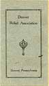 Thumbnail image of Denver Relief Association 1925 Officers cover