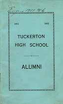 Thumbnail image of Tuckerton High School 1911-1922 Alumni cover