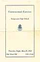 Thumbnail image of Bridgewater High School 1924 Commencement cover