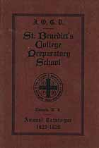 Thumbnail image of St. Benedict's College Preparatory School 1925-1926 Catalogue cover