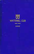 Thumbnail image of New York Whitehall Club 1925 cover