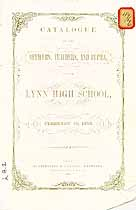 Thumbnail image of Lynn High School 1852 Catalogue cover