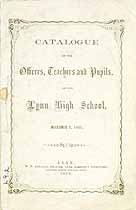 Thumbnail image of Lynn High School 1859 Catalogue cover