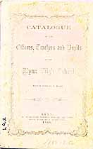 Thumbnail image of Lynn High School 1860 Catalogue cover