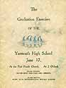 Thumbnail image of Yarmouth High School 1910 Graduation cover