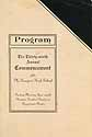 Thumbnail image of McKeesport High School 1921 Commencement cover