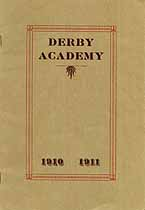 Thumbnail image of Derby Academy 1910-11 Catalogue cover