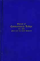 Thumbnail image of Conservancy Lodge, No. 661, 1920 Manual cover