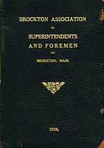 Thumbnail image of Brockton Assoc. of Superintendents and Foreman 1908 Members cover