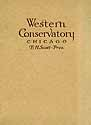 Thumbnail image of Western Conservatory 1915 Catalogue cover