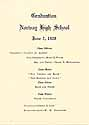 Thumbnail image of Norway High School 1928 Graduation cover
