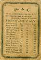 Thumbnail image of Harpersfield Dis. No. 9 Winter Class List for 1876 cover