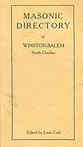 Thumbnail image of Winston-Salem 1909 Masonic Directory cover