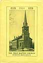 Thumbnail image of Weymouth Baptist Church 1914 Program cover