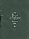 Thumbnail image of Physio Medical College of Indiana 1901 cover