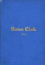 Thumbnail image of NYC Union Club 1912 Membership cover