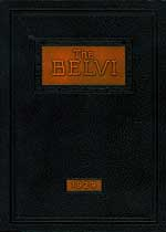 Thumbnail image of The Belvi 1929 Yearbook cover