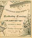 Thumbnail image of Mansfield High School '80 Graduating Exercises cover