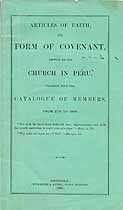 Thumbnail image of Peru Church Catalogue of Members (1770 to 1868) cover