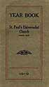 Thumbnail image of St. Paul's Universalist Church 1919 Year Book cover